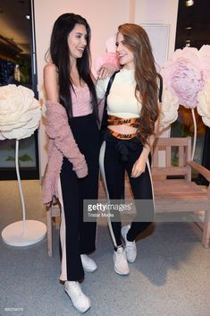 Ana Lisa Kohler and Lisa-Marie Schiffner attend the 'Lvly' care series launch by Paola Maria and DM Drugstore at Invalidenstrasse on July 2018 in Berlin, Germany. Product Launch, Berlin Germany, Pictures, Nice Asses, Berlin
