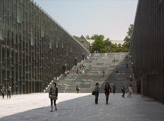 Ewha Womans University, Seoul, Korea by Dominique Perrault Architecture