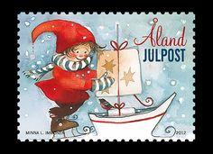 Finnish 2012 Christmas Stamp - Ahvenanmaa