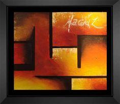 En penumbra Marina Gutierrez- Artelista. Cool Abstract Art, Geometric Painting, Simple Acrylic Paintings, Geometric Art, Acrylic Pouring Art, Fantasy Paintings, Creative Art, New Art, Graphic Art