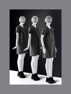 ONE Collection #MoreMannequins #FemaleMannequin #3Graces #minimal