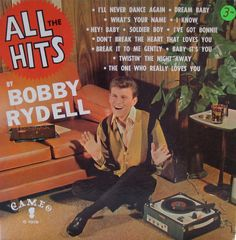 All The Hits — Bobby Rydell #vintage #vinyl #records