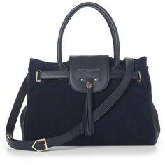 Women's Fairfax & Favor Windsor Handbag (£285) ❤ liked on Polyvore featuring bags, handbags, shoulder bags, studded leather handbags, leather shoulder handbags, leather purses, handbags shoulder bags and purse shoulder bag