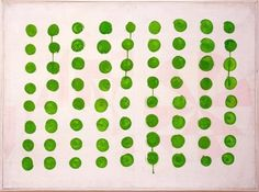 vjeranski:  Manfred Kuttner // Tempera, fluorescent paint on linen