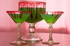Halloween Recipes : Halloween Recipe - Swamp Juice