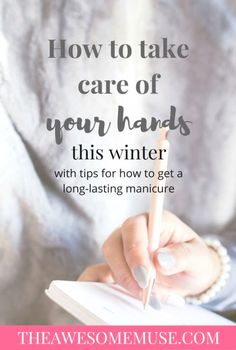 Taking care of your hands gives you softer skin and makes your manicure last longer. Take care of your manicure and have softer skin with these tips and tricks. Dry Hands Remedy, Muse, Beauty Hacks For Teens, Hand Care, Homemade Skin Care, Homemade Beauty, Skin So Soft, Smooth Skin, Take Care Of Yourself