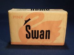 Pink Swan Floating Soap bar