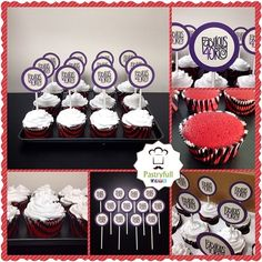 #panama #hbd #happybirthday #handmade #instafood #foodporn #homemade #pastryfull #pty #yummy #sweet #foodie #yum #sweets #dulce #fabulous #icing #red #redvelvet #redvelvetcake #fashion #girl #style #chic #food #fabulous40 #cupcake #cupcakes #40rty #forty Una manera de celebrar las 40's primaveras bien fashion. Para pedidos pastryfull@gmail.com