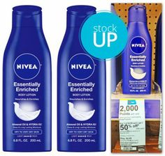 Nivea Lotion, Only $0.74 at Walgreens!