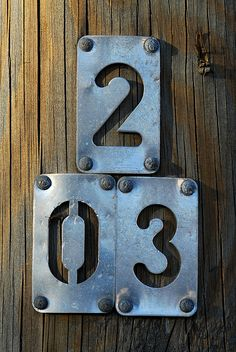 Have students use iPads TP take photos of numbers around the school as a group or email them from home B Plan, What's Your Number, Letters And Numbers, Metal Numbers, How To Write Calligraphy, Wayfinding Signage, House Numbers, Cool Posters, Shop Signs