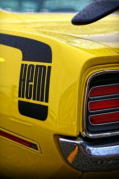 1970 Hemi'Cuda - by Gordon Dean II. Can you imagine winning a Limelight Green one of these? Sign up at www.MyClassicGarage.com