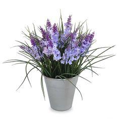 A lavanda é uma flor delicada e romântica que fica linda em qualquer ambiente Este arranjo pequeno combina perfeitamente com decorações vintage. As flores mantêm a sua forma e cor, durante muitos anos. Eles são perfeitos para qualquer época do ano. Flores, feitas de tecido sintético são de muito ...