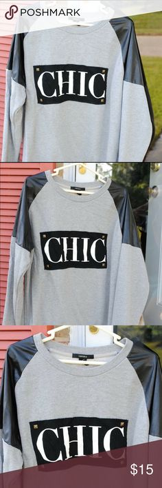 Chic Sweater(Forever 21) In great conditions! :) Forever 21 Sweaters V-Necks