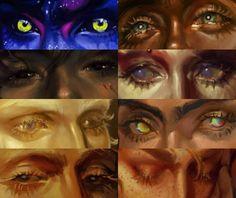 "harteus: ""The a couple of weeks late! Eye Art, Digital Art Tutorial, Colorful Art, Character Art, Learn Art, Cute Art, Art Reference Photos, Art Tutorials, Aesthetic Art"
