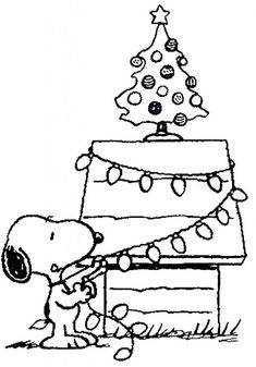 snoopy christmas coloring pages printable | A Charlie Brown Christmas Coloring Pages Charlie Brown and ...
