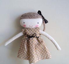 bella sweet  rag doll by lassandaliasdeana on Etsy