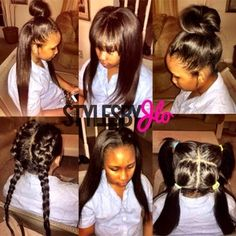 sew in...If I get one I want this versatility