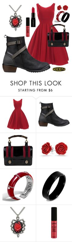 """""""So Fresh and So Keen: Contest Entry"""" by julie-sampson ❤ liked on Polyvore featuring Keen Footwear, Gucci, Bling Jewelry, John Hardy, West Coast Jewelry, NYX, Smashbox and keen"""
