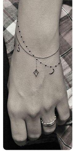 """Résultat de recherche d'images pour """"bracelet tattoos on wrist"""""""