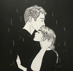 In the rain. Anywhere and everywhere