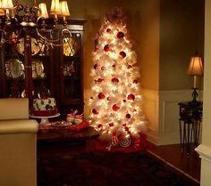 bethlehem lighting christmas trees. Bethlehem Lights 7.5 Flocked Tree W/ Ready Shape And 5 Year LMW Lighting Christmas Trees