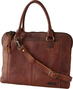 fb87c683a5a1 Our Lifetime Leather Portfolio Bag - Such an ingenious bag – slim and  compact