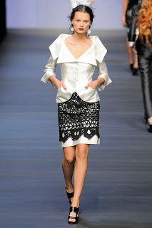 Receitas de Crochet: Vestido fashion