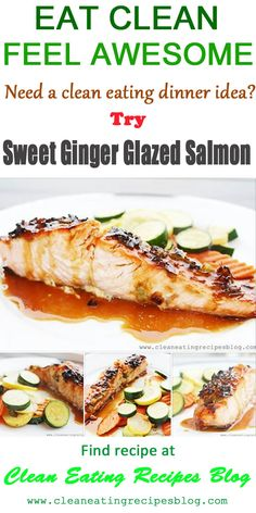 Losing weight isn't so hard. Eat clean, exercise daily and don't quit. You'll get there. And if you need clean eating meal ideas, visit www.cleaneatingrecipesblog.com for free, easy and healthy recipes. Tonight's recommendation? Scrumptious salmon in sweet ginger sauce. You'll love it.