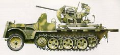 Sd.Kfz. 10/5 Sturmflak    Ucrania ,Union sovietica, otoño de 1943.