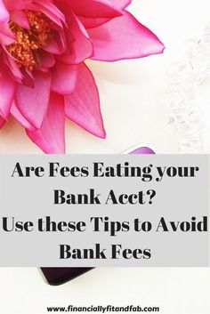 Banks make $1 billion+ off of fees!  Use these tips to avoid bank fees from…