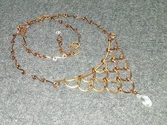 mermaid necklaces - How to make wire jewelery 221 - YouTube