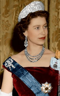 Queen Elizabeth II of the United Kingdom, circa 1950s