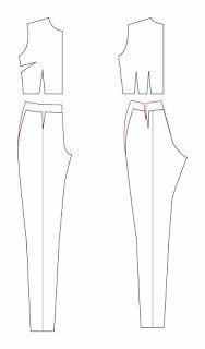PATRONES DE COSTURA: CÓMO TRAZAR UN MONO PANTALÓN O JUMPSUIT Ale, Amanda, Jumpsuits, Designers, Patterns, Fashion, Craft, Vestidos, Pattern Cutting