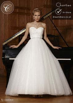 Charties wedding dress available at Cinderella's dreamdress.co.uk