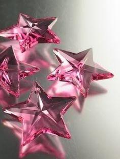 Pink stars....how brilliant!