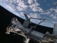 Canadarm-2 completes the berthing of the Cygnus spacecraft to the Earth-facing Harmony module on the ISS. Photo Credit: NASA
