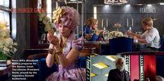 Effie doing her makeup. haha