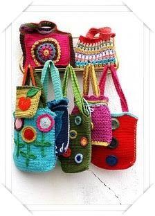 How to crochet simple bags patterns tutorials diy ~ Crochet Knit Tote Bags Back Packs Hobo Bags Purse Handbags Bag Crochet, Crochet Shell Stitch, Crochet Diy, Crochet Handbags, Crochet Purses, Love Crochet, Crochet Crafts, Crochet Projects, Simple Crochet