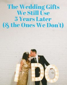 The Wedding Gifts We Still Use 5 Years Later (& the Ones We Don't)   Apartment Therapy
