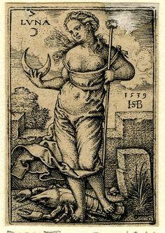 Tied by the shoulder undergarment?`  Sebald Beham 1539