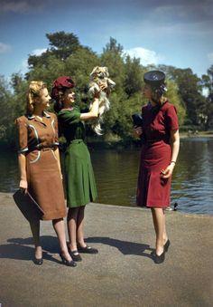 World War II fashion, June 1943