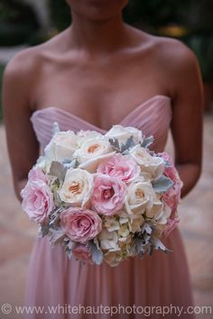 Blush wedding #pink #bouquet #blushwedding
