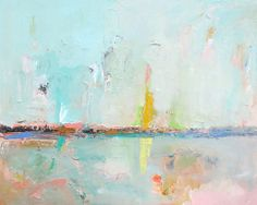Abstract Landscape. Original Acrylic Painting. by SnoogsAndWilde, $375.00
