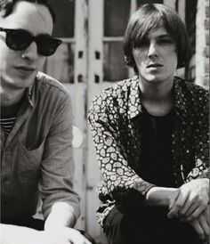 Tom Cowan and Rhys Webb (The Horrors)
