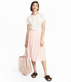 Tulle Skirt   Light pink   Women   H&M US