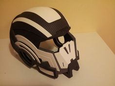 Wip Masse effect Helmet by ~RocknBlock on deviantART