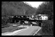Norfolk Southern Through Welch, West Virginia