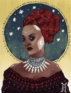 Voodoo queen by butfirstcoffee