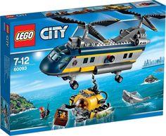 Lego City 60093 Vrtulník pro hlubinný mořský výzkum - 0