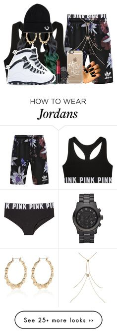 """""""2015 radio interview"""" by makiahcampbell on Polyvore featuring Victoria's Secret PINK, adidas Originals, River Island, Victoria's Secret, Casetify, Michael Kors, M.A.C, NIKE and True Religion"""
